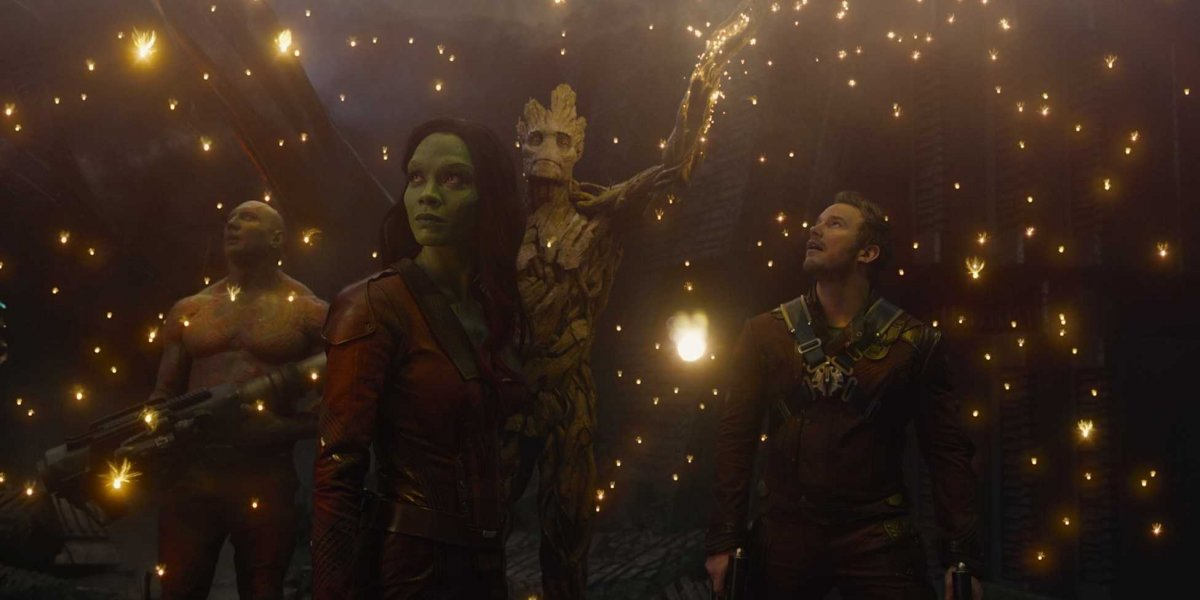The guardians of the galaxy, a bunch of losers from of different ilk, coming together to do something amazing.